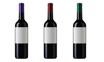 Wine bottles or similar bottles