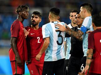 Olympics: Football-Men's Team-1st Round Group D-Portugal (POR) vs Argentina (ARG)