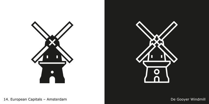 De Gooyer Windmill, Amsterdam