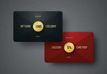 8 Gift Card Layouts 2
