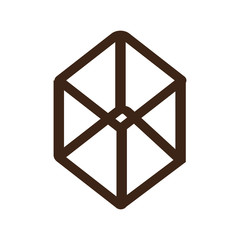 line cube logo