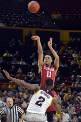 NCAA Basketball: Stanford at Arizona State