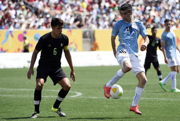 Pan Am Games: Soccer-Uruguay vs Mexico