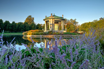 Forest Park bandstand in St. Louis, Missouri