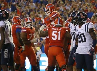 NCAA Football: Mississippi at Florida