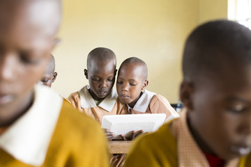 Primary School. Kenya