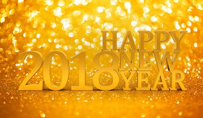 2018 New years glitter background