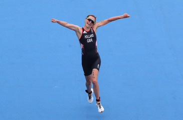 Olympics: Triathlon-Women's Olympic Distance