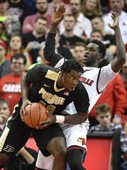 NCAA Basketball: Purdue at Louisville