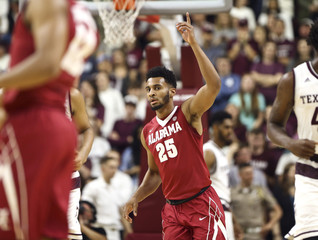 NCAA Basketball: Alabama at Texas A&M