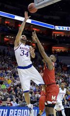 NCAA Basketball: NCAA Tournament-South Regional-Kansas vs Maryland