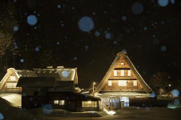 冬の五箇山 Gokayama