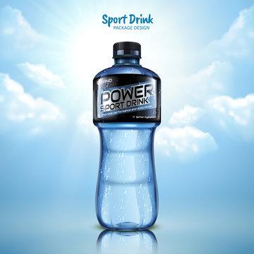 Sport drink package design