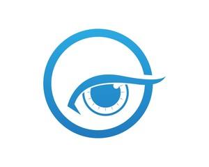 Vector - Eye care logo vector