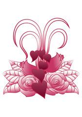 love plant tattoo