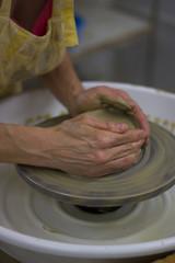 Alfarería. Traditional handmade ceramic pots