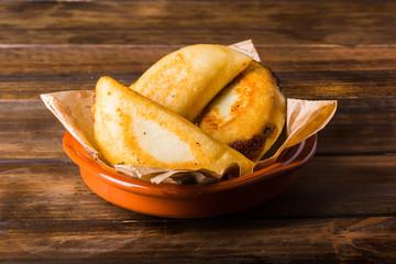 Venezuelan Empanadas ready to eat