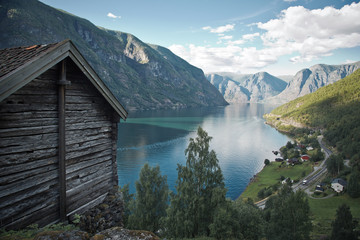 Aurlandsfjord, Norway