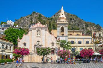 Église de San Giuseppe,Taormina,Sicily ,Italy. Fototapete
