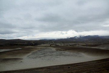 Islande, Landmannalaugar, désert de sable