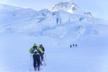 Skitour zur Wildspitze in Tirol