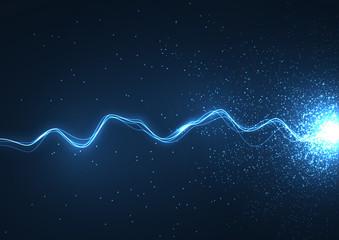 Space lightning energy