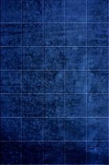 Schmutzige blaue Kacheln