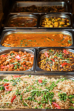 Indian lunch buffet all you can eat catering