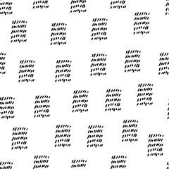 simple hand drawn memphis seamless pattern