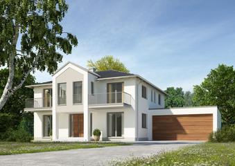 Haus Klassik mit Garage 1