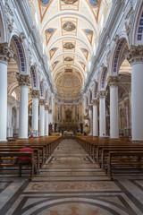 Modica (Sicily, Italy) - Interior of Saint Pietro cathedral