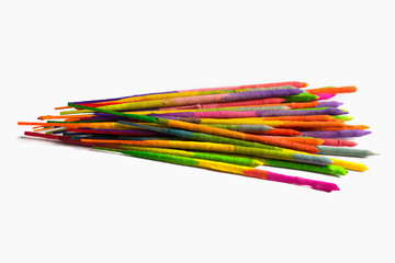 Colorful incense