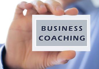 Business Coaching - Management Concept