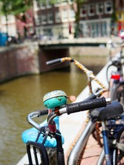 bicycle bell. Amsterdam