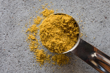 A teaspoon of curry powder