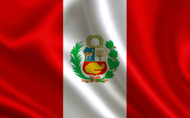 Flag of Peru. Part of the series.