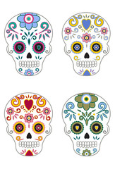Mexican Day of the Dead Sugar Skulls 5