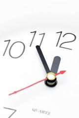 5 to twelve, clock, dial