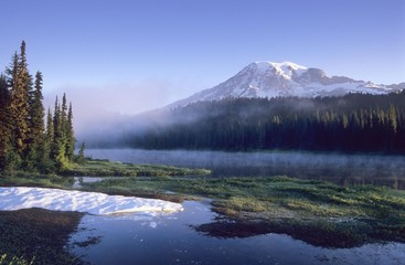 Mount Rainier, Washington, USA, North America