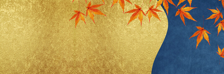 秋 バナー 紅葉