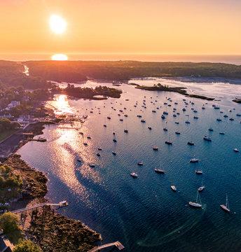 Sunrise over Kittery Point