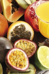 Exotic fruits, Passionfruit, Grenadilla