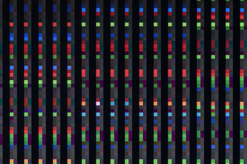 Pixel pattern of a digital glitch / Abstract background, pixel patterns of a digital glitch.