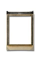 Empty polaroid frame