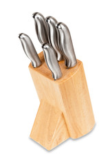Professional Kitchen Knives Set in Wooden Box