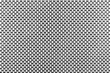 Black and White Abstract Wicker Pattern Rattan Texture Background