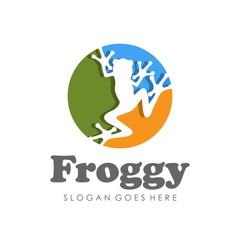 Frog logo/icon designtemplate