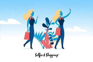 Shopping & Selfie