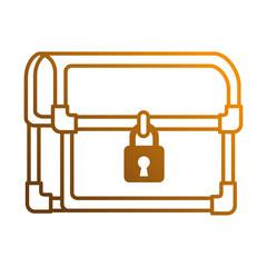 pixelated treasure chest icon