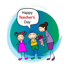 Happy teachers day.